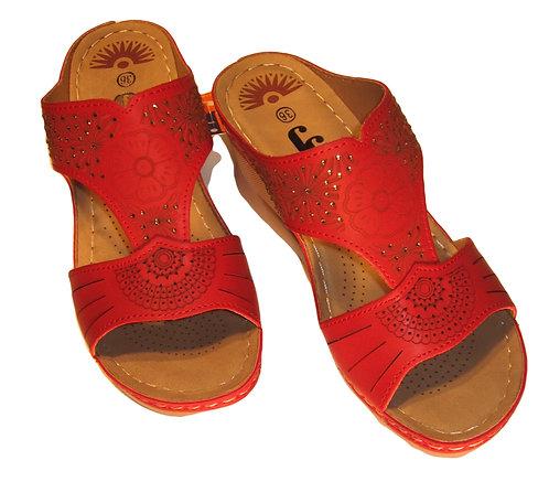 Slip on Wedge Sandal  by JJ's   S-1032