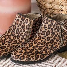 Leopard Boot  by Vanessa Wu  BT1839