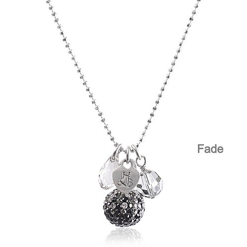 Sparkle Ball Cluster Necklace  by Hillberg & Berk