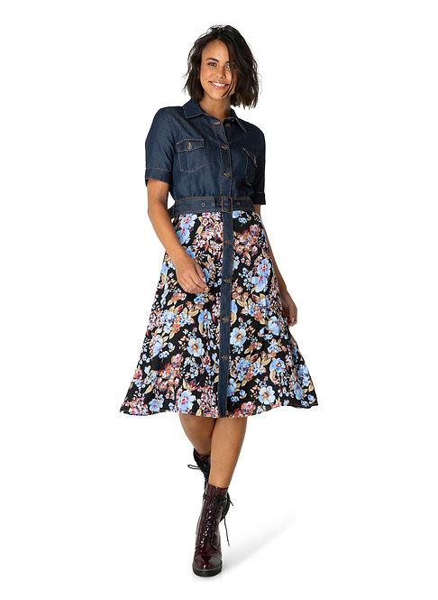 Denim Top Dress by YEST   000123