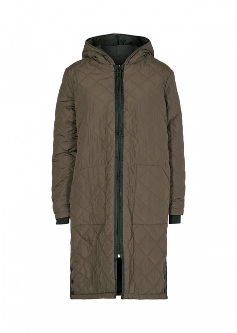 Long Coat by Soyaconcept FENYA w/hood
