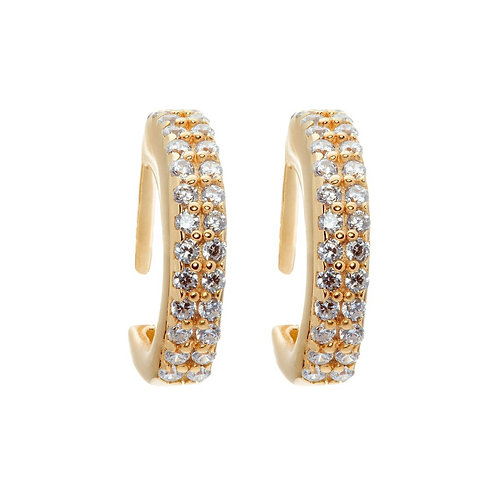 CLARA Hoop Earrings by Hillberg & Berk