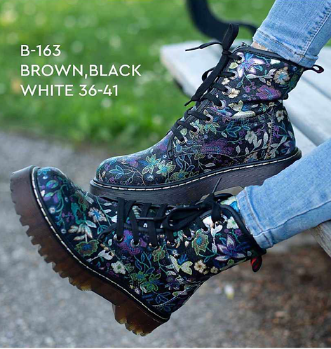 Army Style Boot by JJ'  B-163