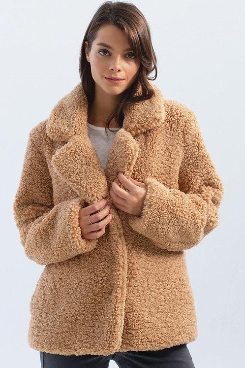 Teddy Fur Coat by Charlie-B  C6142