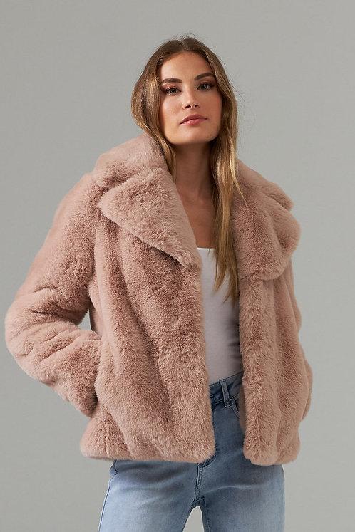 Faux Fur Jacket by Joseph Ribkoff    203501