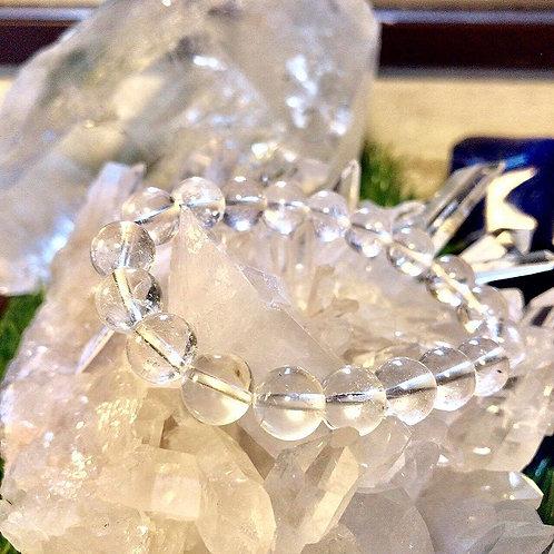 ガネッシュヒマール、水晶ブレスレット10φ