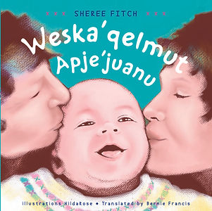 Mi'kmaq Translation of Kisses Kisses Bab