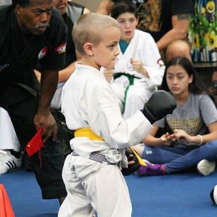 Sam fighting at the last tournament ._._