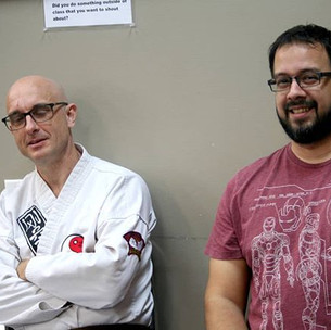 Chris and Luis from Shaolin Martial Arts