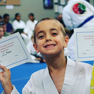Oliver got 1st place in both divisions._