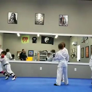 Hyperlapse of the kids class sparring. L
