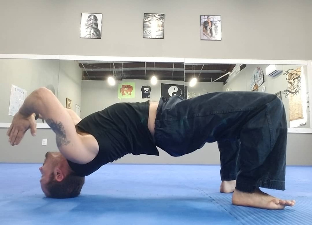 back bend headstand