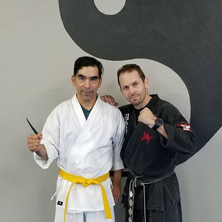 Go Israel, new yellow belt! He had a gre