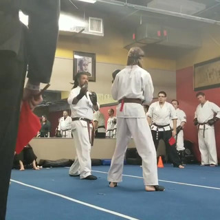William fighting at the tournament, part