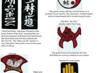 Shaolin-Do Patches