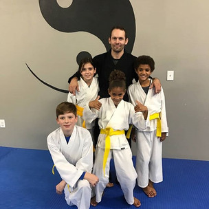 Awesome group of brand new Yellow Belts!