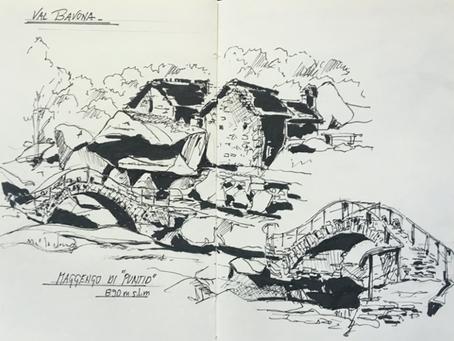 Sketching in Valmaggia - 22,23,24 luglio