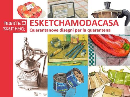 ESKETCHAMODACASA - Quarantanove giorni di disegni raccolti in un libro