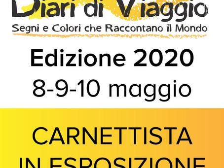 Maggio 2020 - Festival Diari di Viaggio, Ferrara