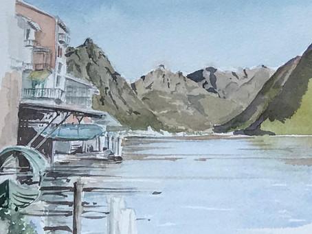 Workshop acquerello - I colori del Lago di Lugano