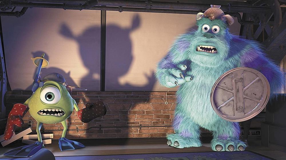 Photo credit: Monsters inc (2002) Pixar