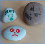 Stone face feelings