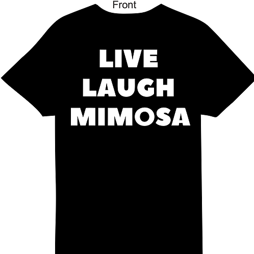 MIMOSA BAR CRAWL SHIRT +LIFETIME MEMBERSHIP