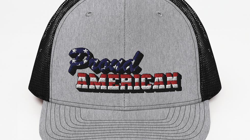 Proud American Trucker Cap