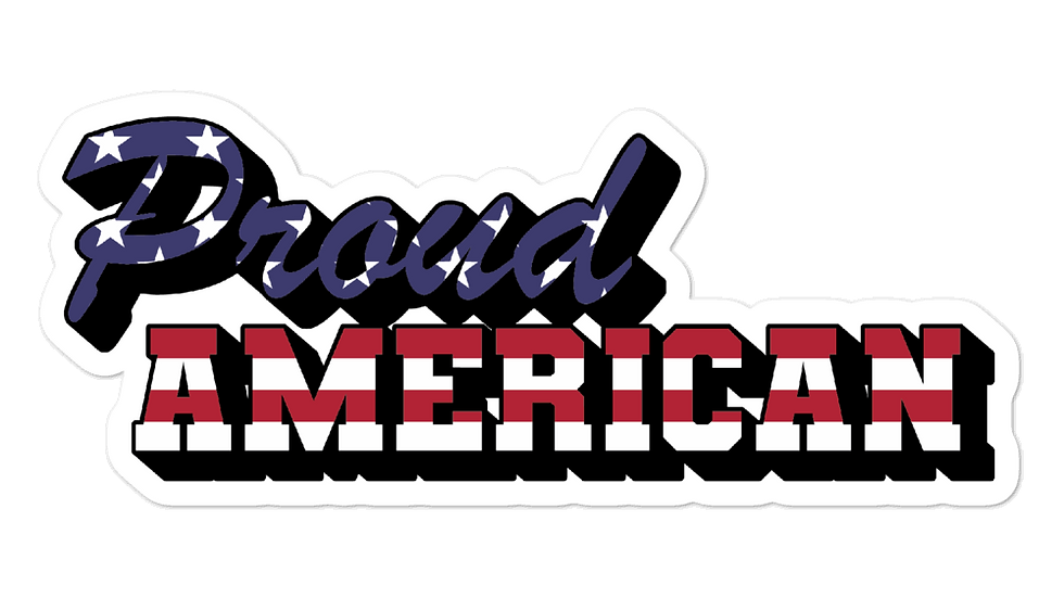 American sticker USA