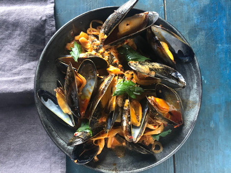 MUSSEL SOUP WITH 'NDUJA