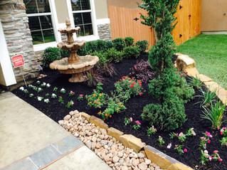 Custom Sprinkler System and Landscaping in Katy TX 77449