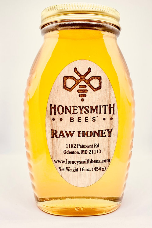 Raw Local Honey 16 oz