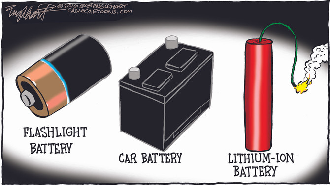 Lithium-ion Ith On My Litht