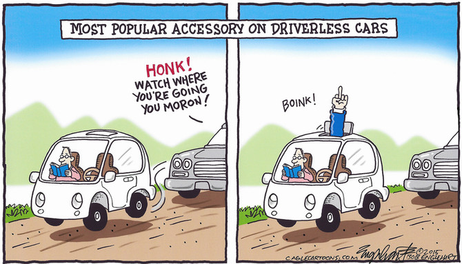 The unexpected benefit of hand-free driving