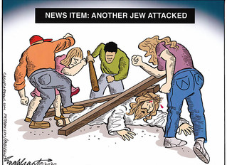 News Item: Another Jew Attacked