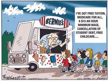 Bernie's Campaign Bus