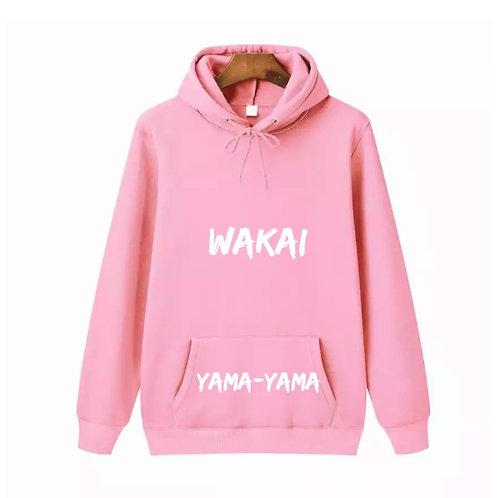 Pink Yama-Yama Wakai Hoodie