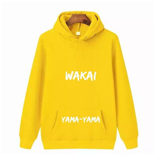 Yellow Yama-yama Hoodie