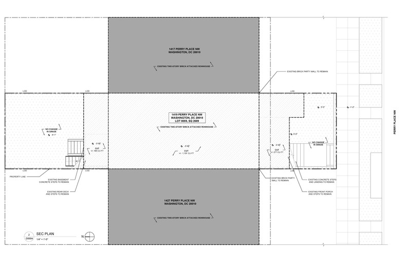 Demolition Plan for Perry Pl