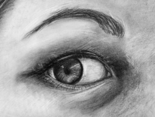 Portrait III (eye detail)