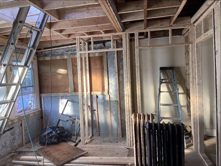 Construction Process Photo - Master Bedroom