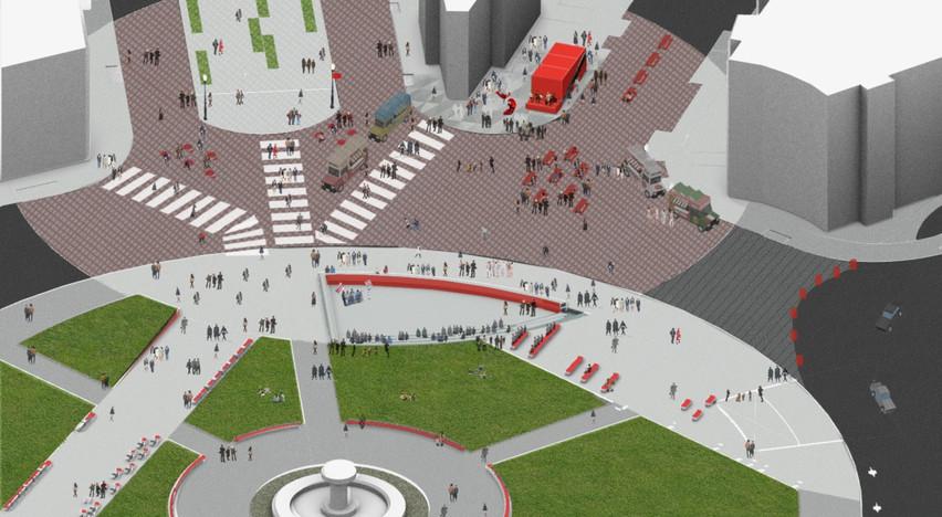Northern Pedestrian Plaza