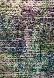 Textual Portrait IV (detail II)