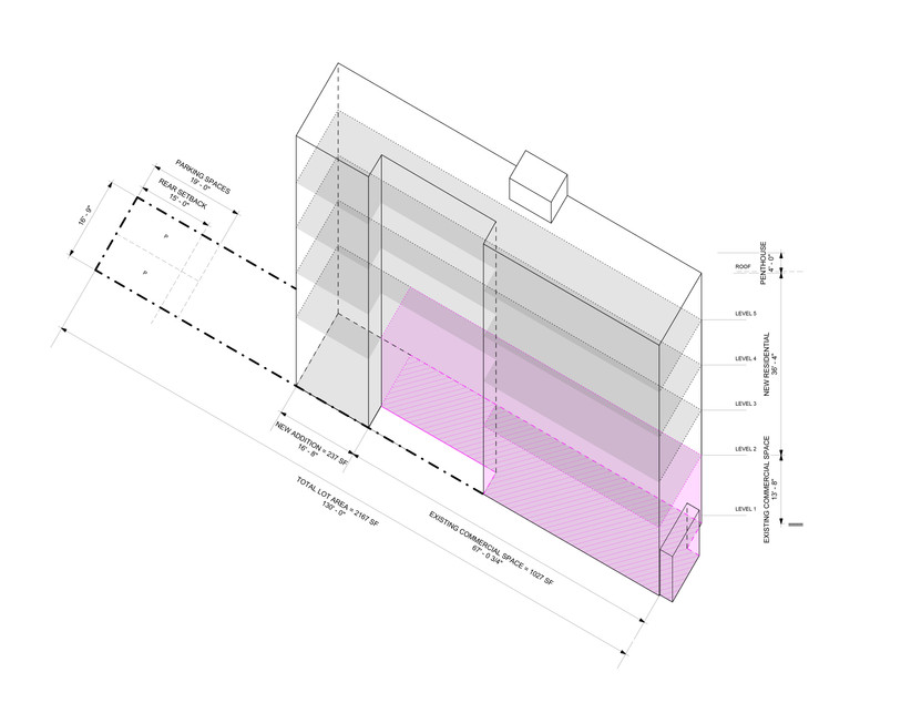 Axonometric Diagram