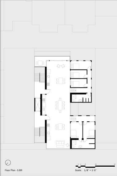 Residential Floor Plan (5 BRs)