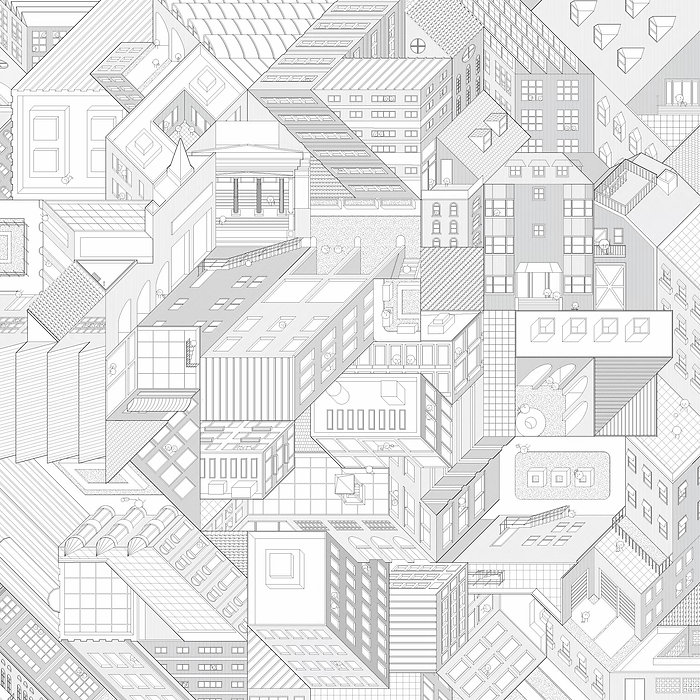 The Language of Architcture - studying the satial consequence of multiple isometric projections