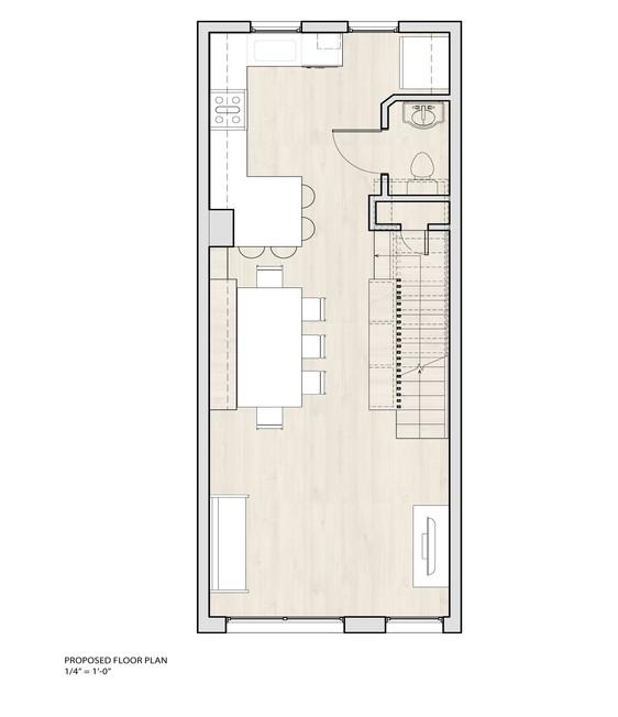 Navy Yard Design - Proposed Floor Plan