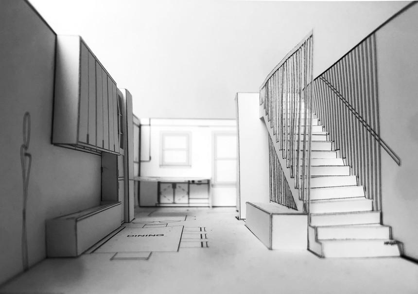 Navy Yard Design - Paper Model Photo