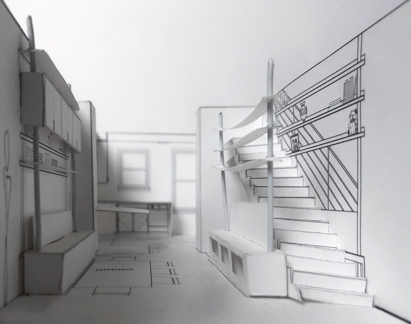 Navy Yard Design - Paper Model of Previo