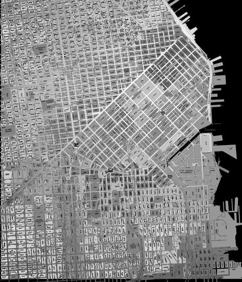 Original SOMA Zoning Map